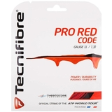 Tecnifibre Pro Red Code 16 Tennis String Set Red