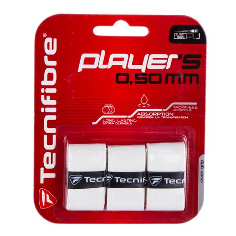 Tecnifibre Player's Wrap 3 Pack Tennis Overgrip