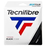 Tecnifibre Black Code 16 Tennis String Set Black