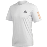 Adidas Club 3 Stripes Men's Tennis Tee