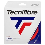 Tecnifibre X-One Biphase 16 Red Tennis String Set - Red