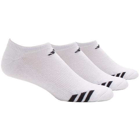 Adidas Cushioned 3- Pack No Show Men's Tennis Socks
