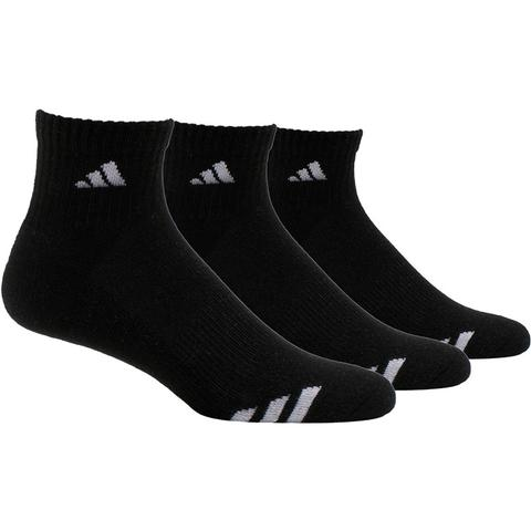 Adidas Cushioned 3- Pack Quater Men's Tennis Socks