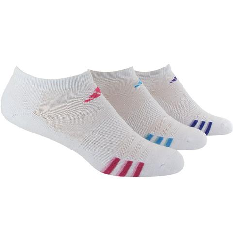 Adidas Variegated 3- Pack No Show Women's Tennis Socks