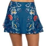 Lucky In Love Long Whip Stitch Women's Tennis Skirt