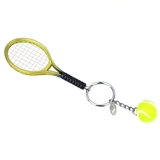 Lacoasports Mini Racquet Key Chain