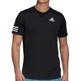 Adidas Club 3 Stripes Men's Tennis Tee