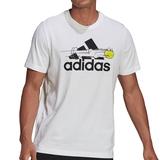 Adidas Logo Graphic Men's Tennis Tee