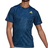 Adidas Freelift Prime Blue Heat Ready Men's Tennis Tee