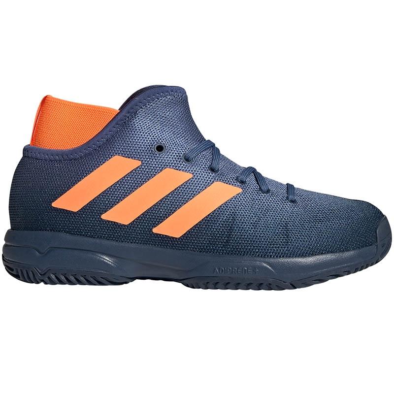 Adidas Phenom Junior Tennis Shoe Blue/orange