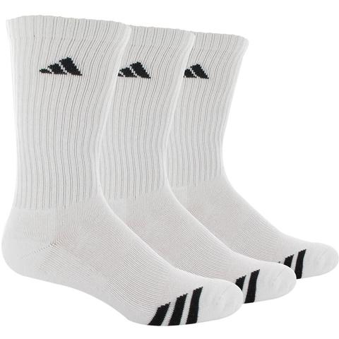 Adidas Cushioned 3- Pack Crew Men's Tennis Socks
