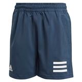 Adidas Club 3 Stripes Boys ' Tennis Short