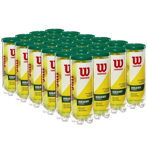 Wilson Championship Regular Duty Tennis Ball Case - 3 Ball Cans