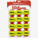 Wilson US Open Red Balls 12 pack Tennis Balls