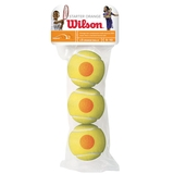 Wilson US Open Starter Orange Balls 3 Pack Tennis Balls