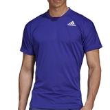Adidas Freelift Prime Blue Men's Tennis Tee
