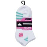 Adidas Variegated 3-Pack Low Cut Girls Tennis Socks