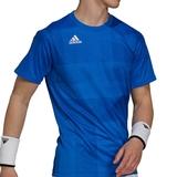 Adidas Freelift Tokyo Prime Blue Men's Tennis Tee