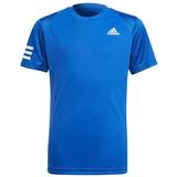 Adidas Club 3 Stripe Boys ' Tennis Tee