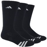 Adidas Striped 3-Pack Crew Junior's Tennis Socks