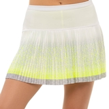 Lucky In Love Long Eclipse Ombre Pleated Women's Tennis Skirt