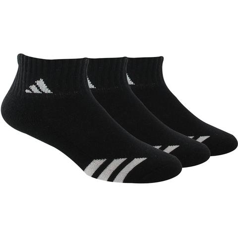 Adidas Striped 3- Pack Quater Junior's Tennis Socks
