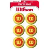 Wilson US Open Foam Balls 6 pack Tennis Balls