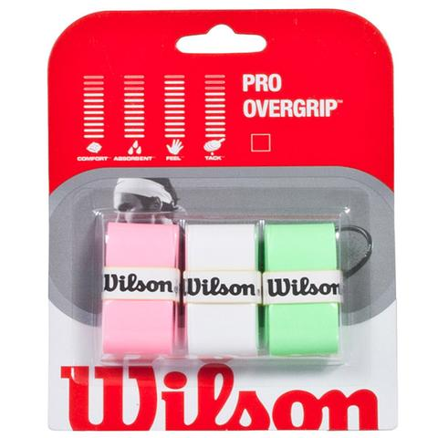 Wilson Pro 3 Pack Assorted Tennis Overgrip