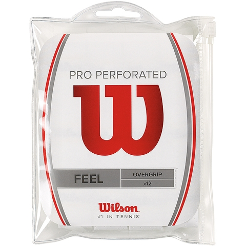 Wilson Pro Perforated 12 Pack Tennis Overgrip