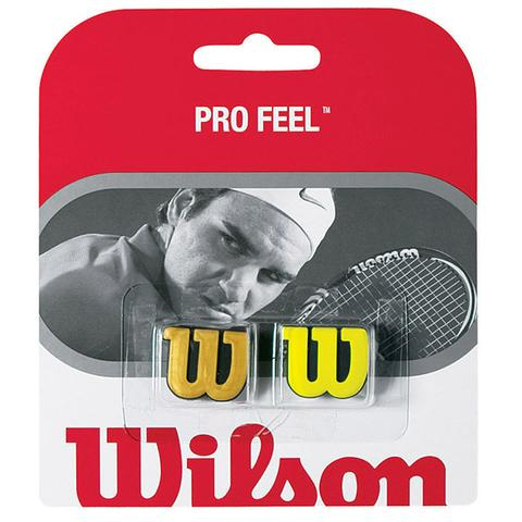 Wilson Pro Feel Blade Tennis Dampener Gold/Yellow