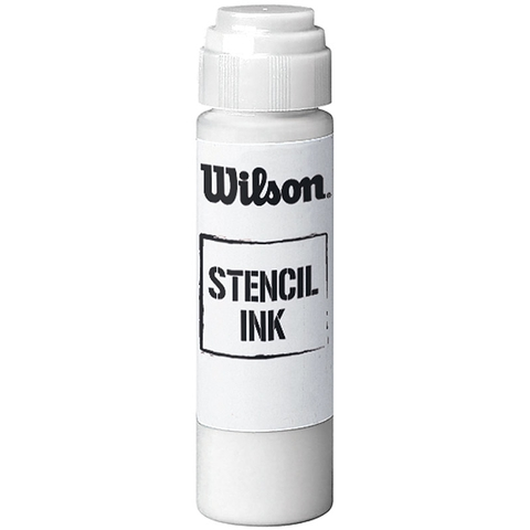 Wilson Tennis Stencil Ink White