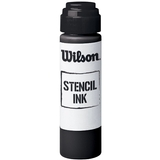 Wilson Tennis Raquet Stencil Ink Black