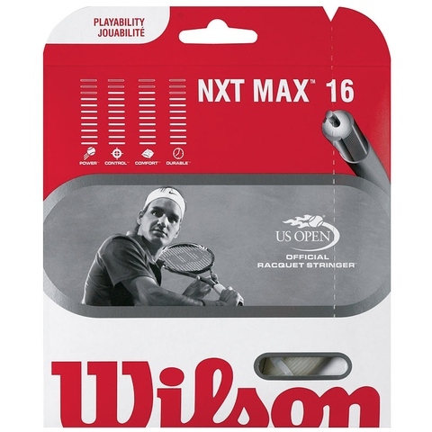 Wilson Nxt Max 16 Tennis String Set