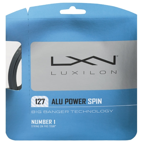 Luxilon Big Banger Alu Power Spin 16 Tennis String Set