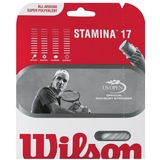 Wilson Stamina 17 G Tennis String Set White