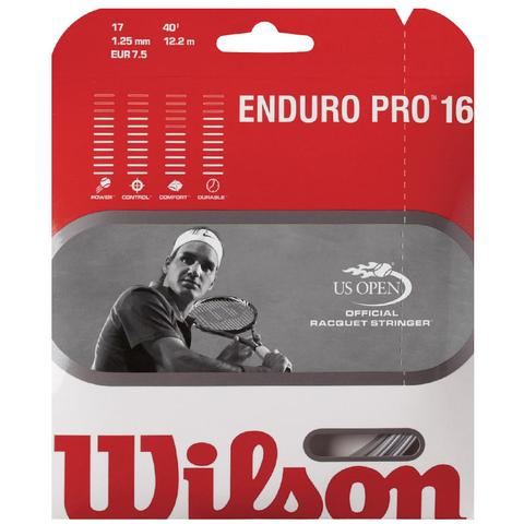 Wilson Enduro Pro 16 Tennis String Set