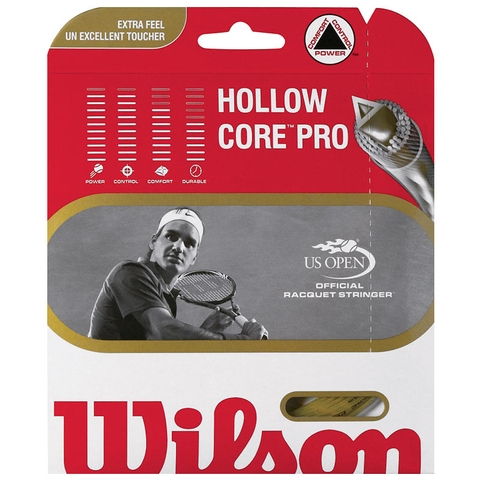 Wilson Hollow Core Pro 17 Tennis String Set