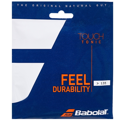Babolat Tonic + Ball Feel Natural Gut 15l Tennis String Set