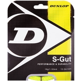 Dunlop Synthetic Gut 16 Tennis String Set - Yellow