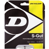 Dunlop Synthetic Gut 16 Tennis String Set - White