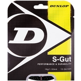 Dunlop Synthetic Gut 16 Tennis String Set - Black