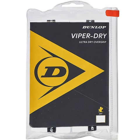 Dunlop Viperdry 12 Pack Tennis Overgrip