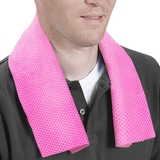 FLX Gear Cool Tennis Towel Pink
