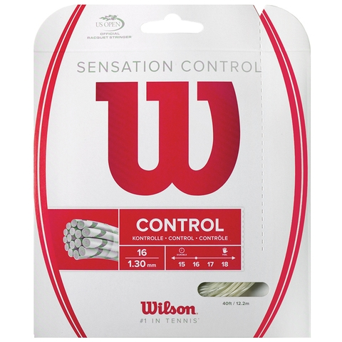 Wilson Sensation Control 16 Tennis String Set