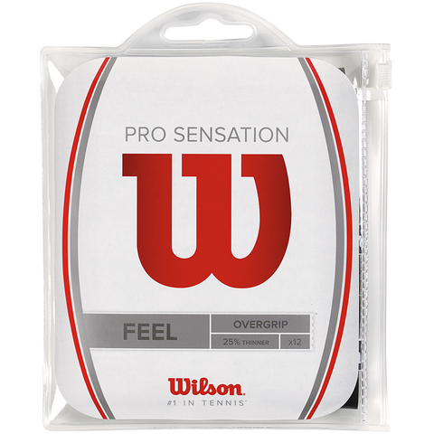 Wilson Pro Super Thin 12 Pack Tennis Overgrip
