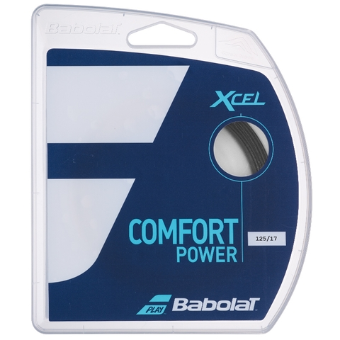 Babolat Xcel French Open 17 Tennis String Set - Black