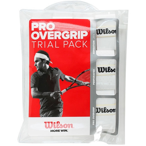 Wilson Pro Trial Pack Tennis Overgrip
