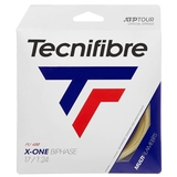 Tecnifibre X-One Biphase 17 Tennis String Set - Natural