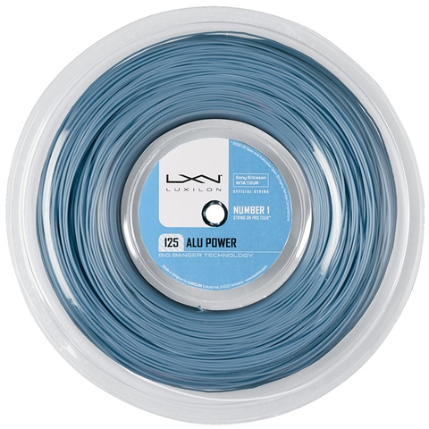 Luxilon Alu Power 125 Tennis String Reel - Blue