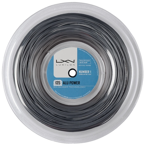 Luxilon Alu Power 125 Tennis String Reel - Silver